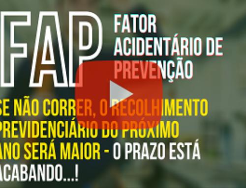 FAP – Fator Acidentário: Se não correr, o recolhimento previdenciário do próximo ano será maior – O prazo está acabando